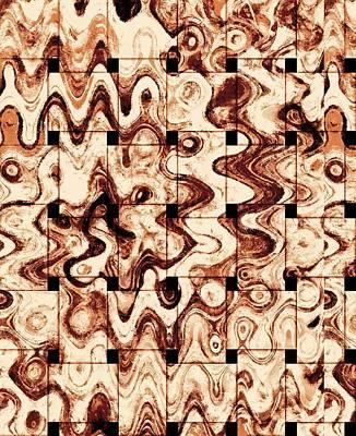Puzzle Mixed Media Original Artwork