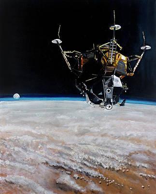 Lunar Module Original Artwork