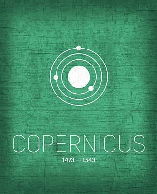 Copernicus Mixed Media Prints