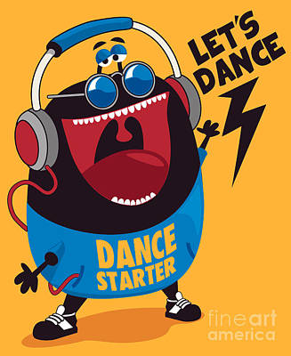 Designs Similar to Dance Monster Vector Design