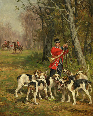 Designs Similar to Hunting Hounds