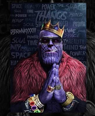 Designs Similar to Thanos by Geek N Rock