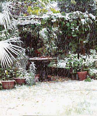 Falling Snow Paintings