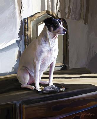 Sigrid Van Dort: Dog Art