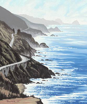 Big Sur Ca Original Artwork