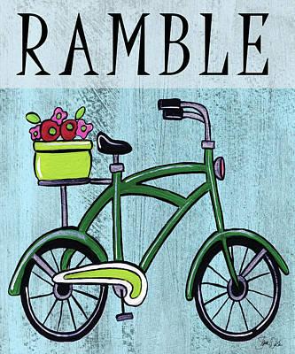 Designs Similar to Bike-ramble Print