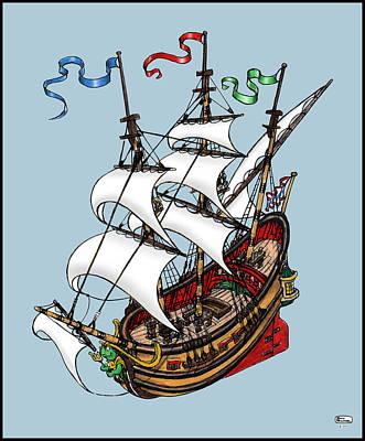 Bill Proctor: Wooden Ship Art