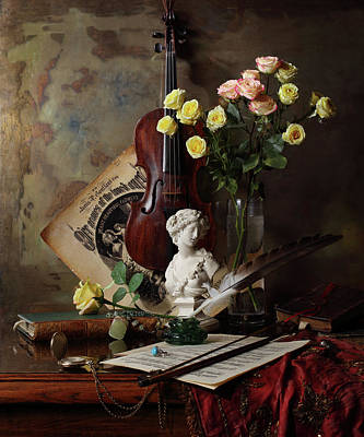 Designs Similar to Still Life With Violin And Bust