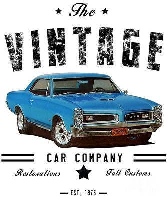 Designs Similar to Vintage Car Company