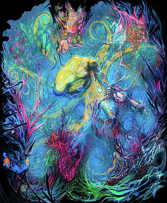Octopus Original Artwork