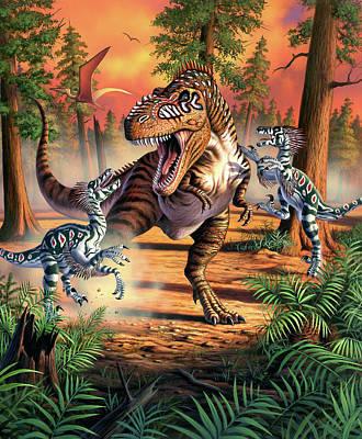 Designs Similar to Dino Battle by Jerry LoFaro