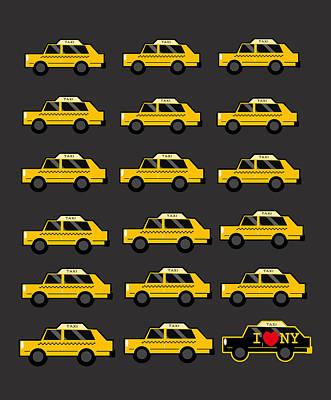 Cab Digital Art