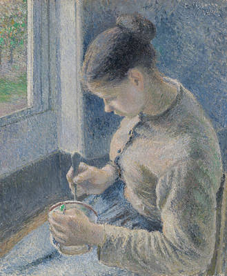 Designs Similar to Young Peasant Having Her Coffee