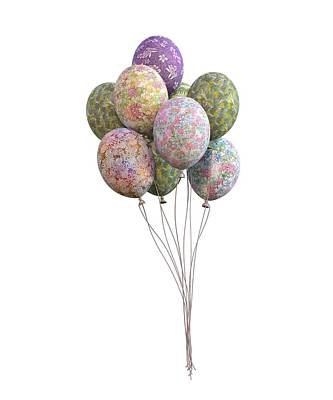 Designs Similar to Balloons Classic Floral