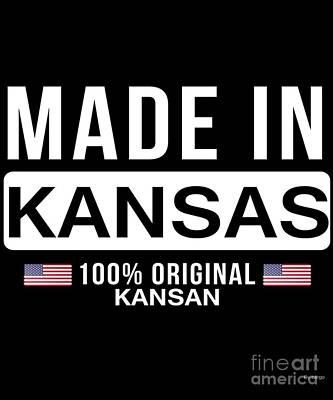Designs Similar to Made In Kansas by Jose O