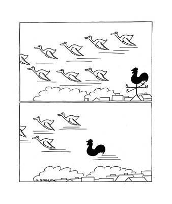 Wild Geese Flying Prints