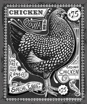 Designs Similar to Vintage Rooster Poultry Butcher