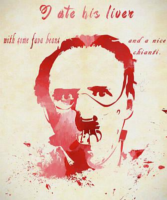 Designs Similar to Hannibal Lecter by Dan Sproul