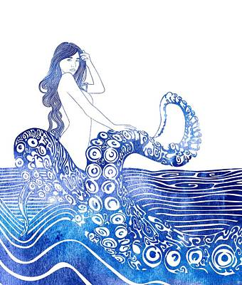Nereid Mixed Media