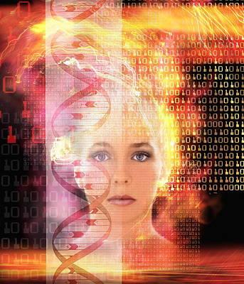 Genetic Information Art
