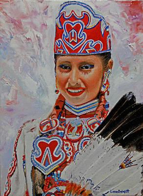 Painting - Luiseno by Lane DeWitt