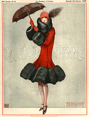 Vintage French Fashion Wall Art