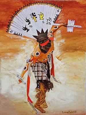 Painting - Pine Tree Clan by Lane DeWitt