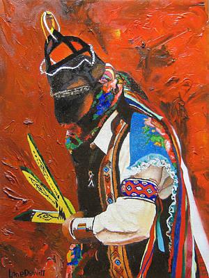 Painting - El Monarca by Lane DeWitt