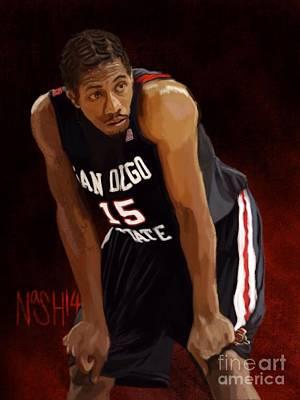 Ncaa Basketball Tournament Paintings