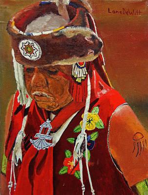 Painting - Luiseno Elder by Lane DeWitt