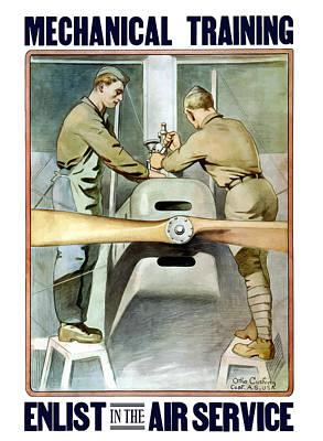World War 1 Propaganda Posters Wall Art