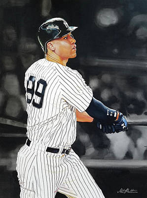 Aaron Judge Original Artwork
