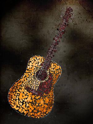 Guitar Mixed Media