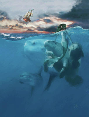 Digital Art - Farewell by Jesse Bilyeu