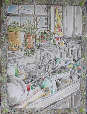 Kitchen Sink Mixed Media