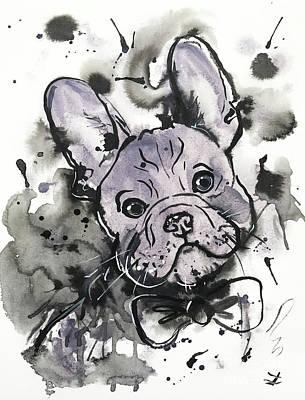 French Bulldog Original Artwork