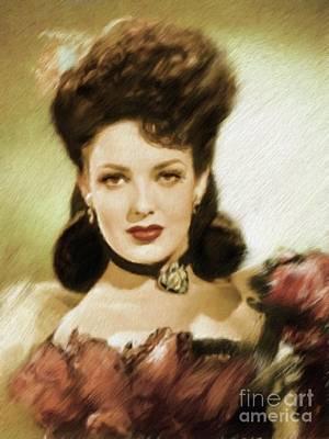 Linda Darnell Paintings