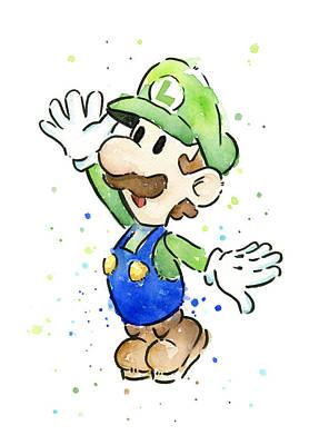 Luigi Paintings