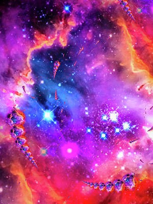 Designs Similar to Multi colored space chaos
