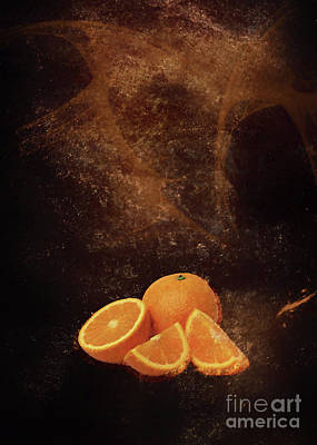 Photograph - Orange and brown by Roberto Giobbi