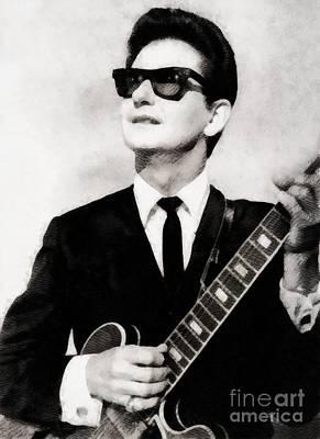 Roy Orbison Paintings