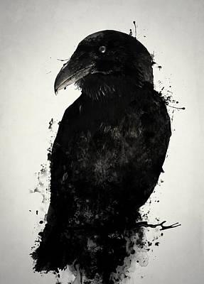 Crow Mixed Media