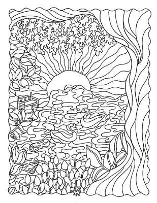 Sunrise Drawings