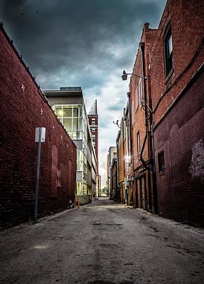 Photograph - Alley A Dramatic by Heath Cajandig