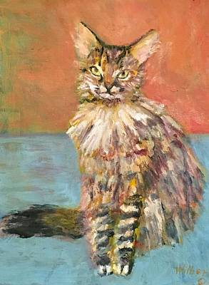 Painting - Big Ears by Bonnie Wilber