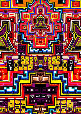 Digital Art - Deceptive Reality by Chipchaman