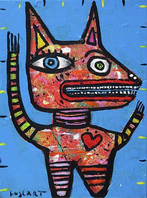 Painting - Freedom To Speak by Jeff Hughart