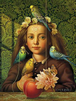 Parakeet Paintings