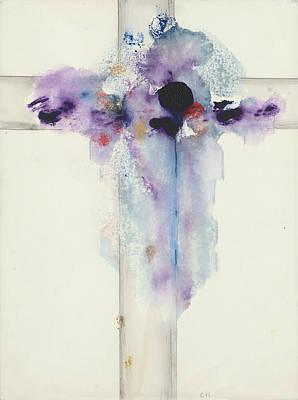 Painting - Jesus Cross CII by Willy Wiedmann