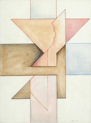 Painting - Jesus Cross L III 85 by Willy Wiedmann